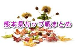 2020年度 秋~冬 熊本県カップ戦まとめ ウィンターカップ 優勝はBIGWAVE!随時更新