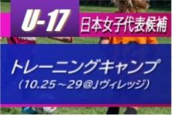 26名が選出!U-17日本女子代表候補トレーニングキャンプ(10.25~29@Jヴィレッジ) メンバー・スケジュール