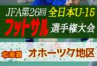 【大会中止】2020年度第32回 全道U-15フットサル選手権大会 兼 JFA第26回全日本U-15フットサル選手権大会 北海道代表決定戦 組合せ募集!情報お待ちしています!