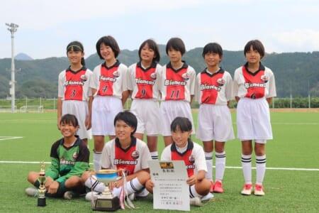2020年度 第30回熊本県U-12女子サッカー選手権大会(ガールズエイトなでしこ MIYAZAKI カップ熊本県大会) 優勝はビアンカス!