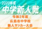 【優勝チームコメント掲載】2020年度 JFA第44回全日本U-12 サッカー選手権大分県大会 優勝は大分トリニータU-12!全国大会へ!!