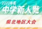 2020年度 第24回三條信組ふれあい杯ジュニアサッカー大会 新潟 優勝は加茂FC!