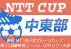 高円宮杯U-15サッカーリーグ2020 埼玉 クラブリーグ  最終結果掲載!