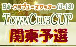 第4回Town Club CUP 2020 関東予選 グループステージ B・C10/17結果掲載 次回開催情報お待ちしております