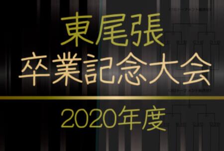 2020年度  東尾張 U-12卒業記念サッカー大会(愛知)予選リーグ開催中!情報お待ちしています!
