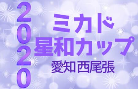 速報!2020年度 第22回 ミカド星和カップ(愛知) 11/28結果更新!次回12/5,6