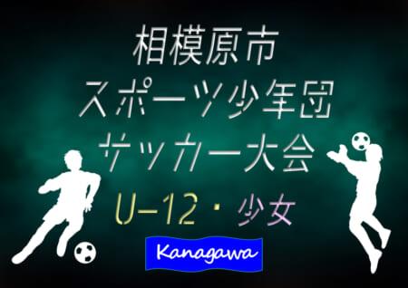 2020年度 相模原市スポーツ少年団サッカー大会 U-12・少女 (神奈川県) 11/28,29 1・2回戦全結果揃いました!3・4回戦は12/5、準決勝・決勝は12/6開催!情報ありがとうございます!
