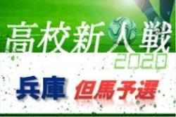 2020年度 兵庫県高校サッカー新人大会・但馬支部予選 県大会出場は豊岡、豊岡総合!