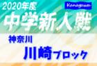 2020年度 KFA第42回熊本県少年サッカー新人大会(田嶋杯)U-11  優勝はソレッソ熊本V!
