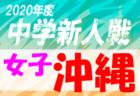 2020年度 第49回熊本市中学校サッカー新人戦大会 熊本 組合せ掲載!12/20開幕