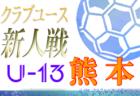 2020年度KFA第15回熊本県クラブユースU-13サッカー大会 11/29予選リーグ結果掲載!決勝トーナメント12/5!