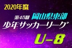 2020年度 第45回岡山県東部少年サッカーリーグ【低学年】 優勝は平井FC(ミント)、フェリスタSC(ピーチ)!