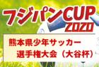 2020年度 KFA 第52回熊本県少年サッカー選手権大会(大谷杯) 熊本県大会 3,4回戦結果掲載!次回1/30は無観客開催