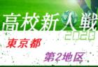 【一次中断】2020年度 東京 第7地区高校サッカー新人大会  準々決勝結果掲載 準決勝対戦カード掲載!