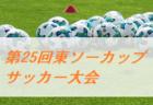 2020年度 第1回 U-11広島チャレンジカップサッカー大会 南支部予選(旧ちゅーピーカップ) 優勝はサンフレッチェ広島!