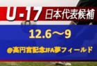 女子GKキャンプ(12.4~6@高円宮記念JFA夢フィールド)メンバー・スケジュール発表!