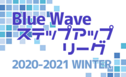 2020-2021 Blue Wave ステップアップリーグWINTER(中四国)2/27,28結果掲載!3/7開催