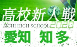 【2/7まで中止・次回2/11】2020年度 愛知県高校新人体育大会 サッカー競技 新人戦  知多支部予選 1/9結果掲載!決定戦は2/11開催!