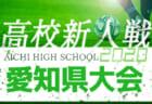 【2/7まで中止・開催未定】2020年度 愛知県高校新人体育大会 サッカー競技 新人戦  西三河支部予選  1/9,10結果更新!