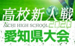 【2/7まで中止/開催についてを掲載】2020年度 愛知県高校新人体育大会 サッカー競技 新人戦  愛知県大会