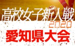 【2/7まで中止/開催について掲載】2020年度 愛知県高校新人体育大会 女子サッカー競技