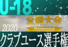 2020年度 第44回 日本クラブユースサッカー選手権(U-18)大会【全国大会】12/25~開催!組み合わせ決定!