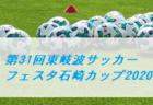第1回京都建物杯 JFA U-11サッカーリーグ 2020 京都 12/12,13結果掲載!1試合から情報提供お待ちしています!