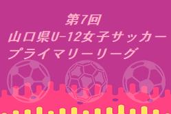 2020年度 第7回 山口県U-12女子サッカープライマリーリーグ 12/20結果情報お待ちしています!