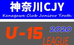速報!2020年度 神奈川県CJY U-15サッカーリーグ 1/17までの結果更新!続報をお待ちしています!