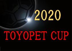2020年度 TOYOPET CUP(トヨペットカップ) 第47回岡山県少年サッカー優勝大会 組合せ掲載!1/24~(開催可否検討中です) 岡山県