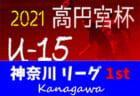 高円宮杯JFA U-15サッカーリーグ2021 神奈川 1stステージ 129チーム出場!! 組合せ決定!リーグ戦表作成しました!2/6開幕予定!