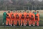 2020年度 第14回卒業記念サッカー大会 MUFGカップ・泉南地区予選(大阪)中央大会出場はゼッセル熊取・桃の木台!