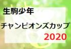 2020年度 遠州トラックカップ 第41回 静岡県中学1年生サッカー大会(WINNERS CUP)優勝はアカデミー福島!