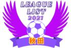 2021年度 岡山県リーグ戦表一覧