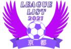 2021年度 滋賀県リーグ戦表一覧