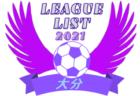 2021年度 福岡県リーグ戦表一覧