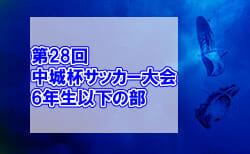 2020年度 第28回中城杯サッカー大会 6年生以下の部 (兵庫)2/27全結果掲載!2/28結果速報!情報提供お待ちしています