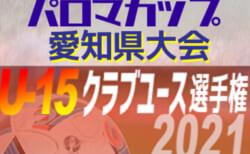 2021年度 パロマカップ 第36回日本クラブユースサッカー選手権U-15 愛知県大会  4/17,18結果更新!入力ありがとうございます!次回4/24,25