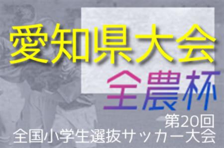 2021年度 第20回 JA全農杯 全国小学生選抜サッカー大会 愛知県大会  日程情報をお待ちしています!