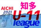 2021年度 球蹴男児U-16リーグ 6/12ついに開幕!6/12.13結果掲載!次節6/20