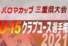 2021年度  東三河U-12リーグ前期(愛知)5/8,9結果速報!