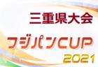 速報!2021 フジパンCUPジュニアサッカー大会三重県大会  2日目結果掲載!ベスト8決定!決勝トーナメントは6/27