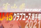 2021年度 JFA U-12 サッカーリーグ富山 6/12.13結果掲載!次7/3.4