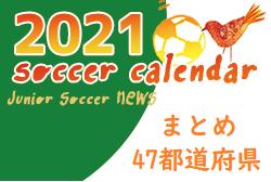 サッカー大会の年間予定をチェックしよう!カレンダー2021年度【全国47都道府県別まとめ】