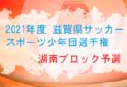 2021年度 第15回埼玉県第4種リーグ 少女 4/18結果募集!