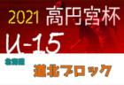 2021年度  高円宮杯JFA U-15サッカーリーグ 第14回道央ブロックカブスリーグ(北海道)組合せ掲載!5/1開幕!