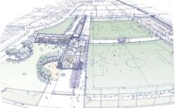 「熊本県フットボールセンター(仮称)」が2022(令和4)年夏に開設!県サッカー界の強化育成、地域の活動交流拠点に
