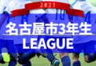 2021年度 愛知県フットサルリーグ U-12   10/2までの結果掲載!次回11/13開催予定