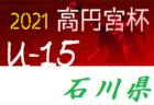 2021年度 日本クラブユースサッカー選手権(U-18)関東大会 グループステージ 5/8,9結果速報!これまでの分もあわせて情報をお待ちしています!
