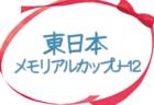 2020年度 新人戦大会(川口市少年サッカー連盟)埼玉 優勝は安行東A!